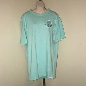 NWOT Diamond Supply Co mint green T-shirt